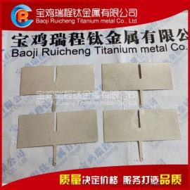 厂家批发电解水机用铂金钛阳极 铂钛合金电极
