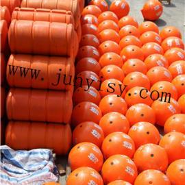 批量生产 40X50cm标界浮球 塑料管道浮体