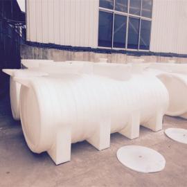 江苏新农村改造PE化粪池聚乙烯滚塑化粪池地埋式三格化粪池