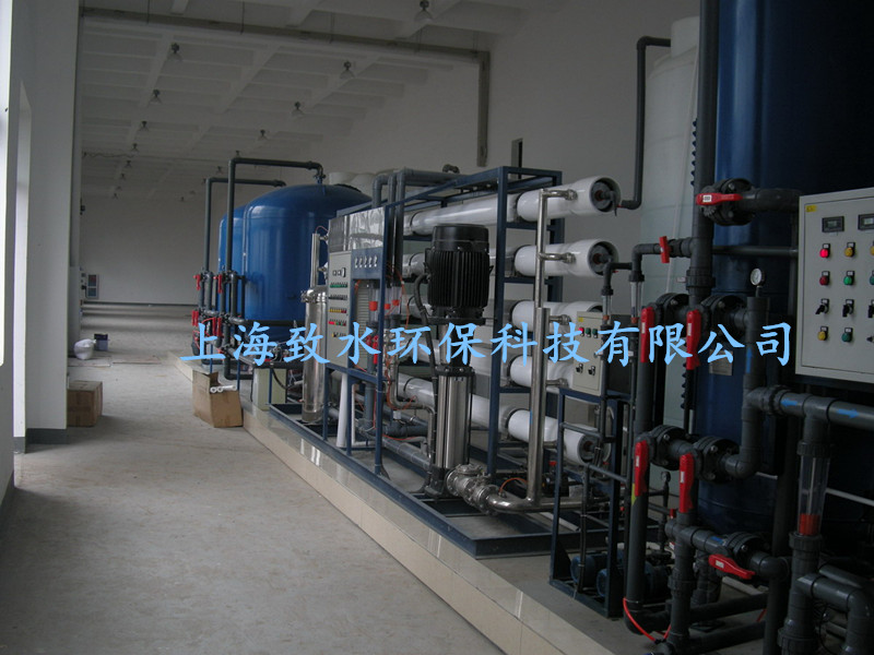 上海涂装生产线用水处理设备ZSQB-S2000L