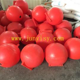 厂家供应 30CM聚乙烯浮球 40公分海上塑料浮球