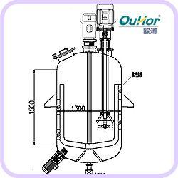 【欧河-AF2000真空乳化机】乳化机|真空乳化|高剪切乳化机