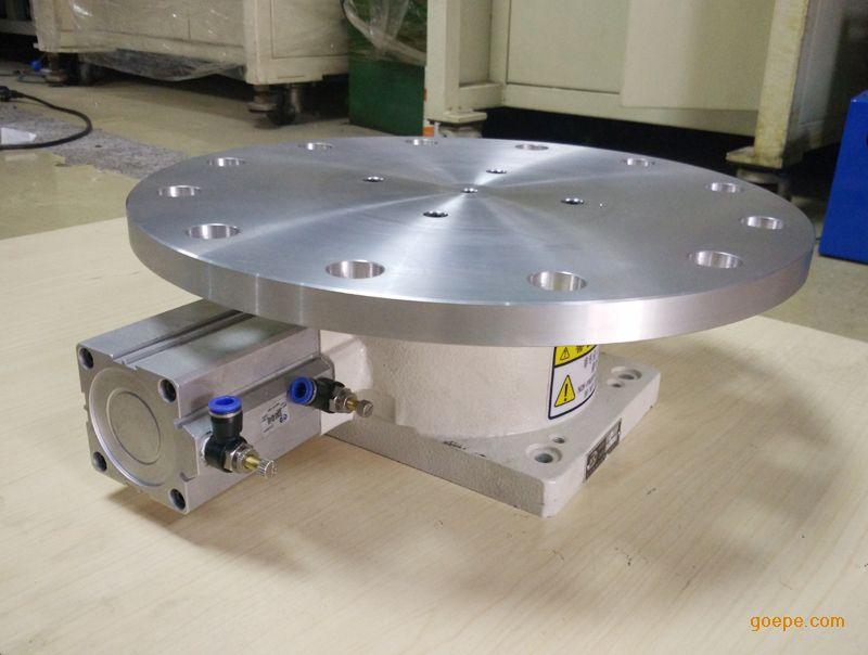 气压分度盘铣床自动化设备用旋转气动分度盘价格图片