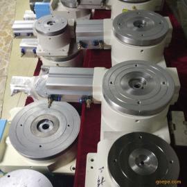 浙江厂家供应高精度旋转气动分度盘 320DT气动回转台