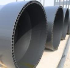 汉台区PVC排水管、中空壁管、中空管价格