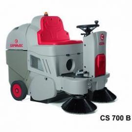 进口不扬尘驾驶式扫地车