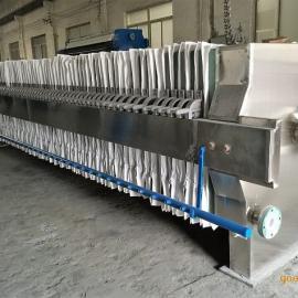 100平方包不锈钢板框压滤机 板框过滤机自动板框压滤机