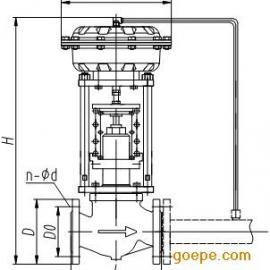 自力式蒸汽流量控制阀,自力式蒸汽压力调节阀