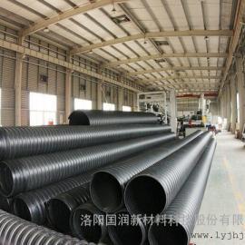 SN12.5钢带增强聚乙烯螺旋波纹管