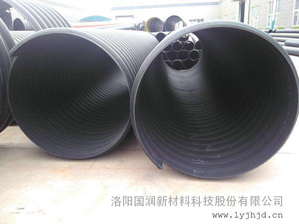 DN500钢带聚乙烯排污管河南生产厂家