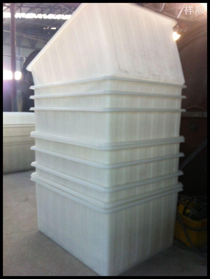 耐摔抗撞840l方形塑料桶