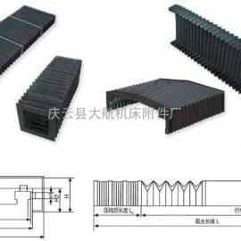 龙门刨床风琴防护罩规格