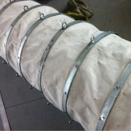 钢带吊环式帆布软连接厂家