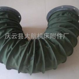 军绿色帆布软连接价格