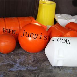 厂家生产供应 塑料浮体 水库拦截垃圾塑料浮体
