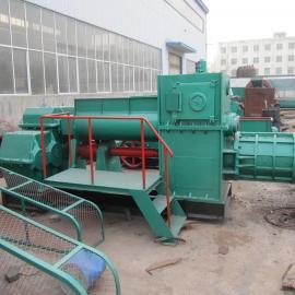 中方真空挤出型粘土砖机/红砖生产设备/多孔空心砖机
