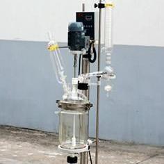 3L高硼硅双层玻璃反应釜