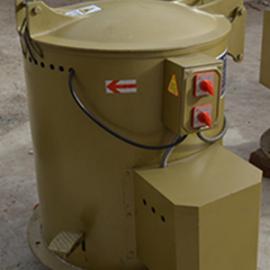 五金零件脱水烘干机 35L离心脱油机 加热快速干燥机甩干机