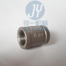 厂家直销不锈钢铸造内丝直通 铸造内牙直通 铸造内丝管箍