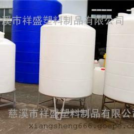 500L聚乙烯锥底水箱厂家/500L塑料锥底水箱批发