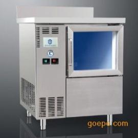 咸美顿吧台式制冰机HB-200 商用方冰制冰机