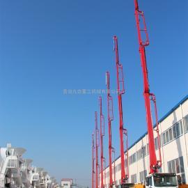 青岛九合重工机械有限公司 34米小型混凝土泵车