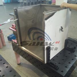 厨房设备厨具柔性焊接工装夹具,厨具机器人焊接工作站