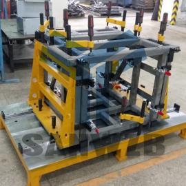 半导体封装设备柔性工装夹具,半导体封装设备焊接工装夹具