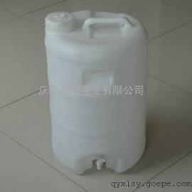 水龙头50KG塑料桶,阀门50公斤塑料桶,水嘴50升塑料桶
