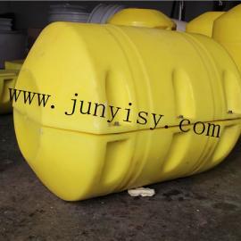 福建滚塑浮体加工 PE滚塑浮桶 直径700CM的浮桶