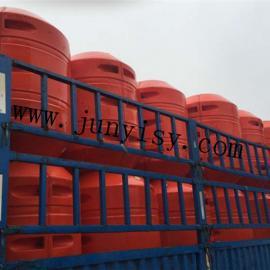 厂家定做夹管塑料浮体 聚乙烯浮体 抽沙管浮体