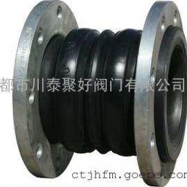 上海久静牌可曲挠橡胶软接头 橡胶软接头