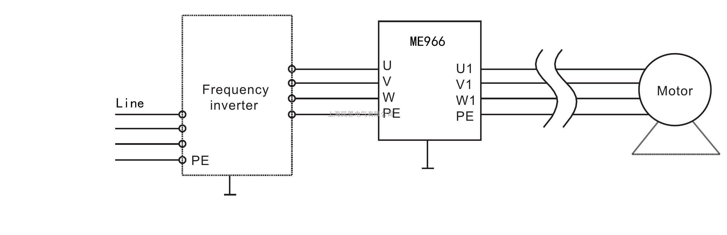 三相5线虑波器电路
