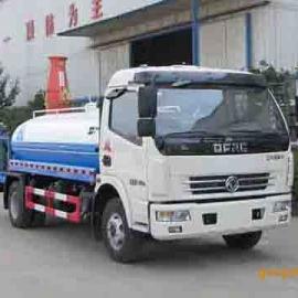 东风多利卡国四6.8吨喷药洒水车,洒水喷药车