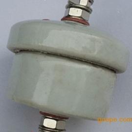 耐高压高温 95瓷陶瓷绝缘柱130mm*75mm绝缘子 孔径M12M8