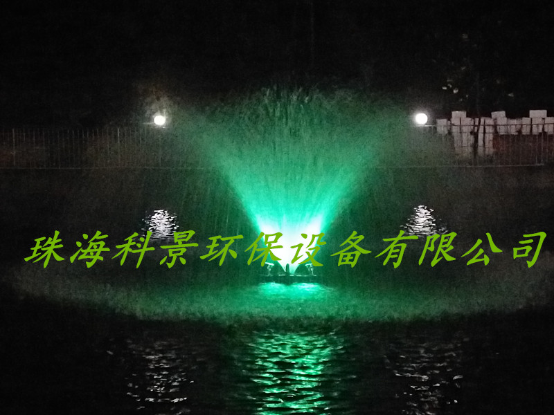 高尔夫球场湖泊水增氧喷泉曝气机