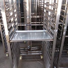 不锈钢馒头蒸车 馒头蒸盘生产 蒸馒头蒸房 食品蒸车
