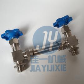 JX29W外螺纹玻璃管液位计 锅炉玻璃管液位计 水箱水位计