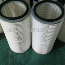 PTFE进口覆膜高精度除尘滤芯