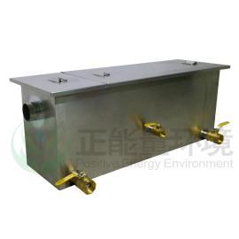 餐厅厨房油水回收治理设备--无动力油水分离器--正能量环境