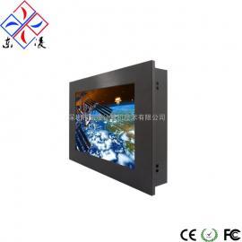 12寸12.1寸嵌入式无线缆防尘工业电脑