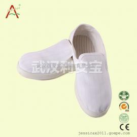 防静电四孔鞋,无尘室鞋,洁净鞋,防静电鞋,pu鞋