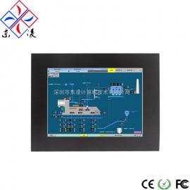 12寸12.1寸全封闭IP65防水防尘嵌入式计算机