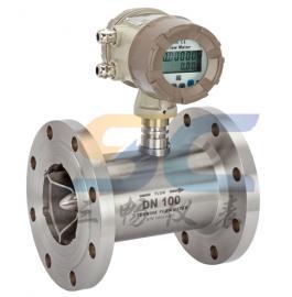液体涡轮流量计,智能一体化显示,远传,螺纹连接,卫生型卡