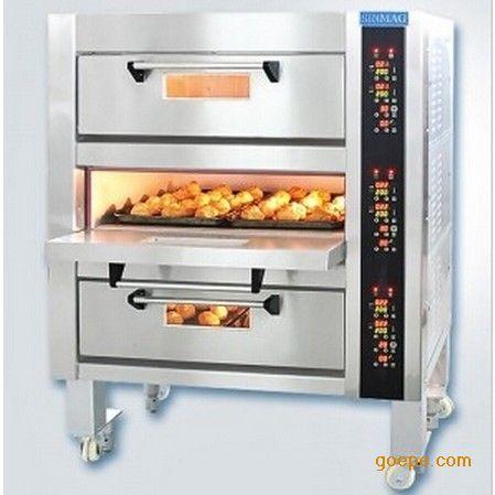 新麦电烤箱SM-523 三层六盘电烤箱