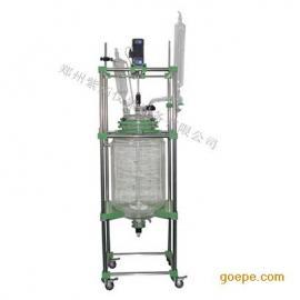高校实验室双层玻璃反应釜