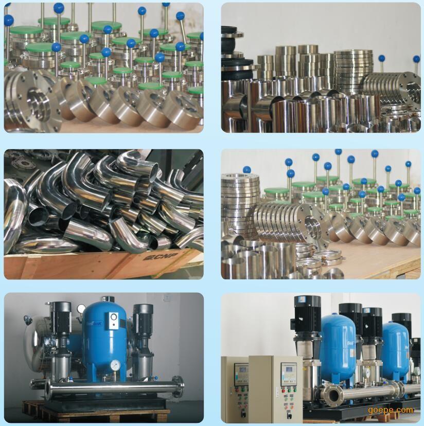 无负压供水设备代加工 变频供水设备管路机组OEM贴牌代加工