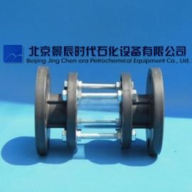 法兰式PVC管道视盅 PVC玻璃管视镜 DN50大量现货