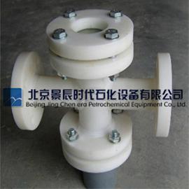 优质防腐PP管道视镜 法兰式FRPP直通视镜 厂家自产自销