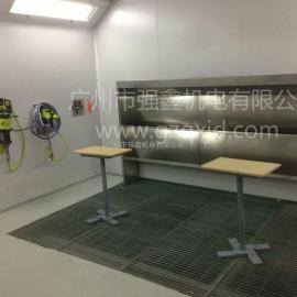 专业定制无尘喷漆房 木质家具展柜喷漆房,水帘式喷漆房